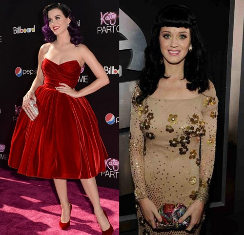 Big fan of Judith Lieber handbags is Katy Perry, who always chooses unusual and bright patterns