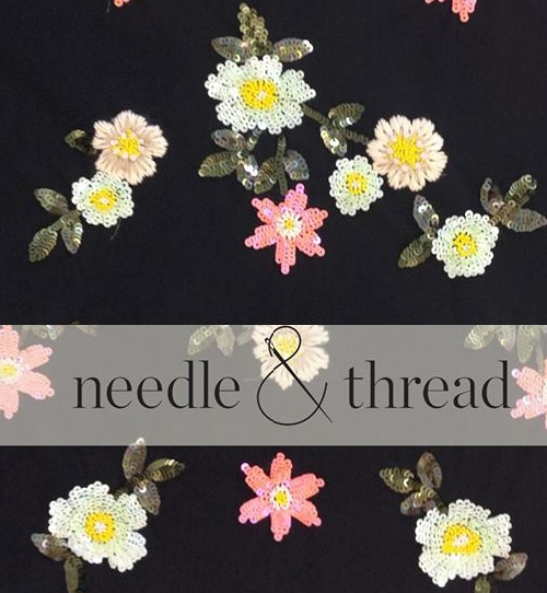 Needle & Thread new fashion brand