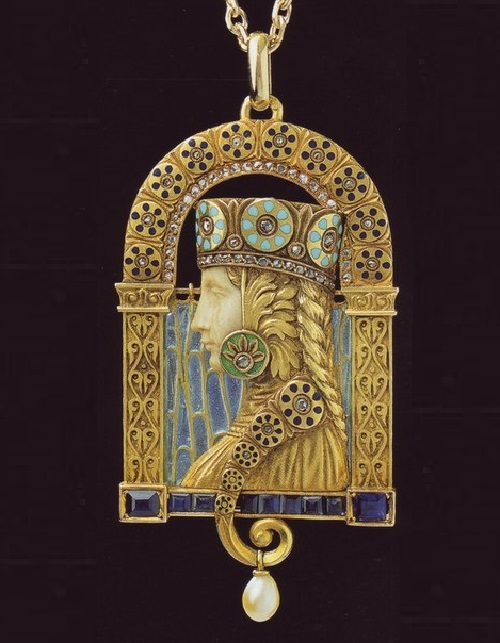 Art Nouveau jewellery by Lluis Masriera