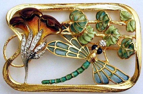 Art Nouveau jewellery by Lluis Masriera i Roses