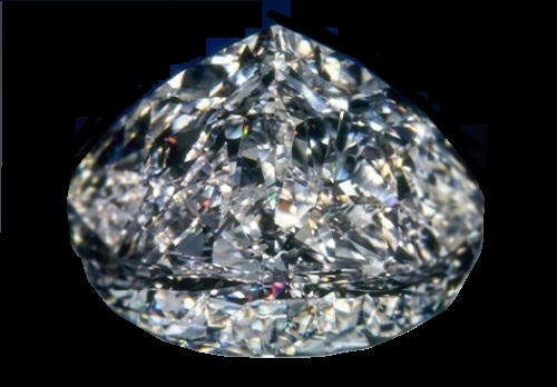 Top ten largest diamonds. Centenary