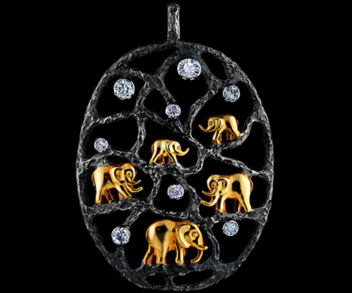 Eden Pendant. Jewellery Theatre high jewellery