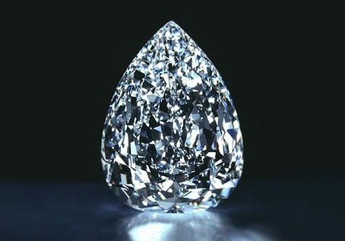 Top ten largest diamonds. Millennium Star