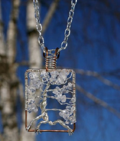 Pendant Crystal winter