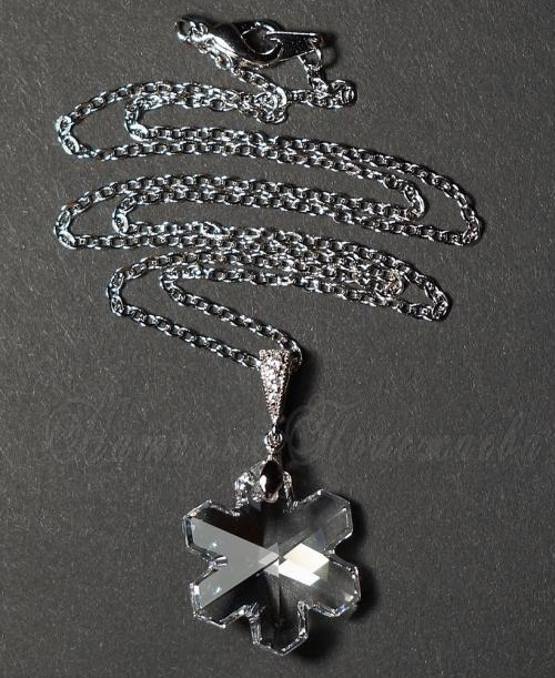 Pendant 'If snowflake melts'