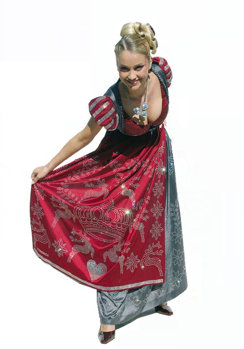 Fifteen Most expensive dresses. Swarovski Dirndl Dress