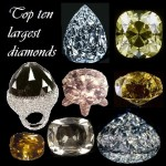 Top ten largest diamonds