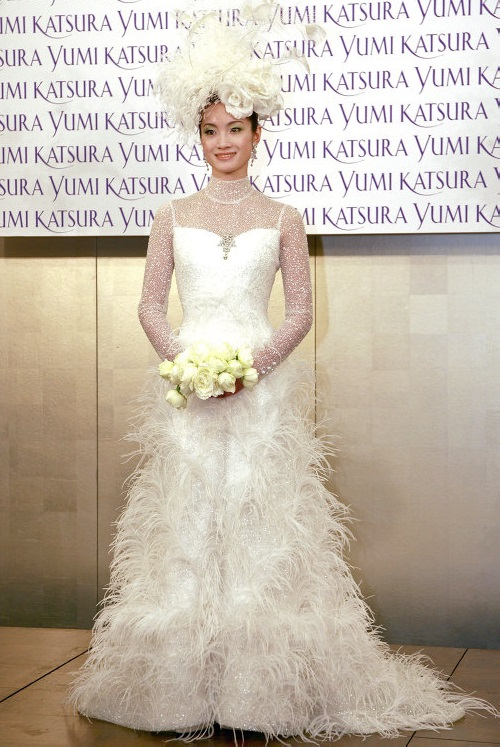 Fifteen Most expensive dresses. Wedding dress by Japanese designer Ginza Tanaka