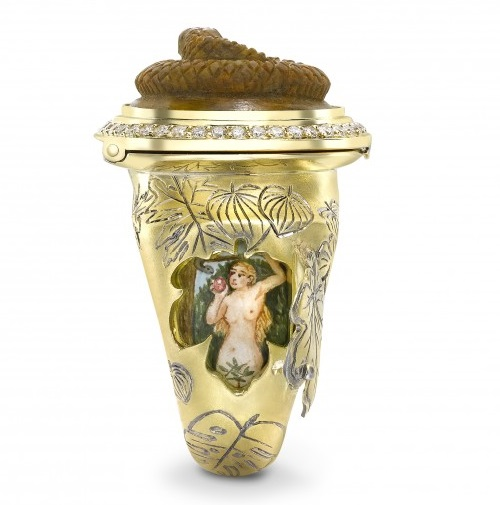 Adam and Eve opening ring