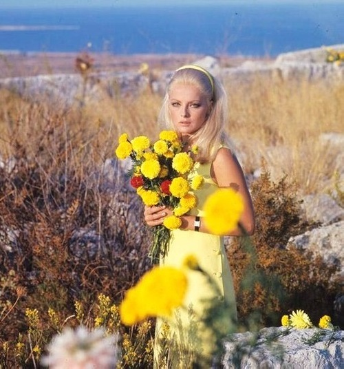 Jewellery lover Italian actress Virna Lisi (8 November 1936 – 18 December 2014)