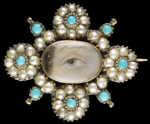 Eye miniature jewellery