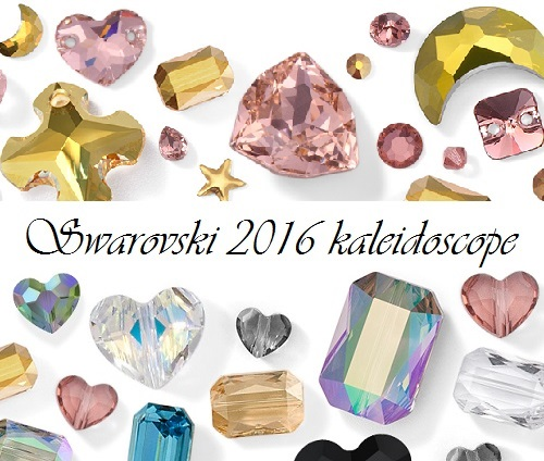 Swarovski 2016 kaleidoscope - New color and effect