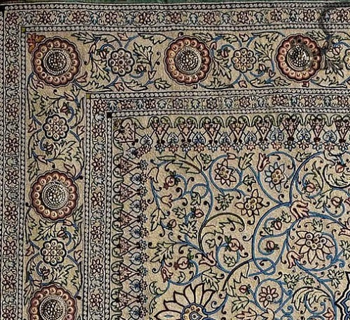 Pearl carpet of Baroda - the most expensive carpet in the world