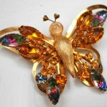 Butterfly Selro brooch