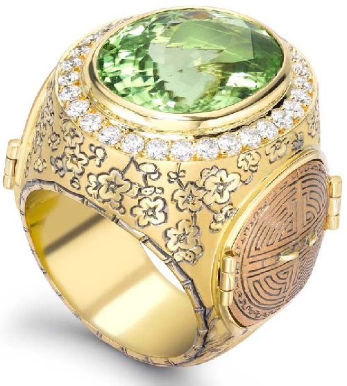 The Chinese Secret Garden Ring