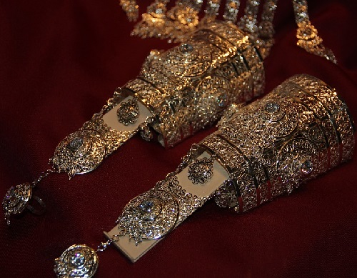 Bracelets. Treasury of the Republic of Sakha, Yakutia Diamond Treasury