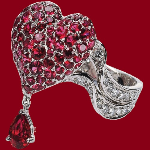 Valentine's Day jewellery