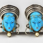 Blue Selro Selini Earrings