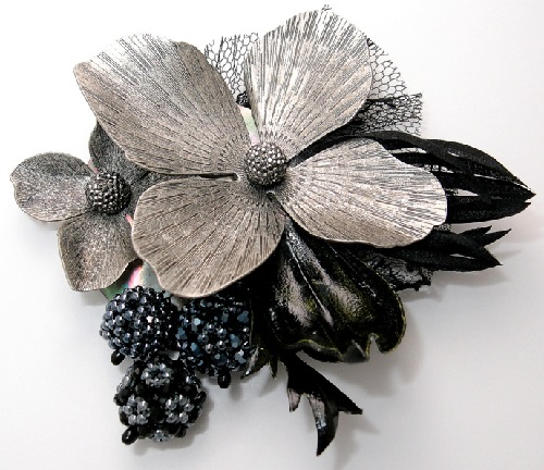 Brooch Queen of night