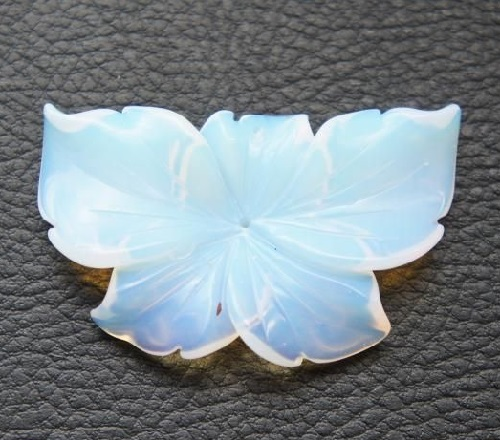 Moonstone flower. Jewellery shop by Branch of cherry (Sakurashop)