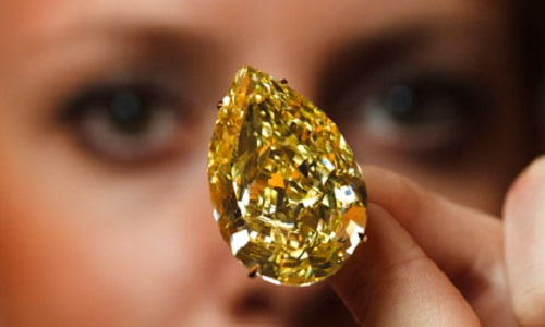 The Cora Sun-Drop Diamond – one of the most stunning diamonds in the world