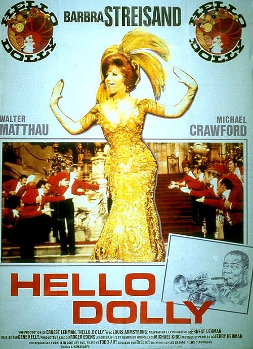 Barbara Streisand in 1969 'Hello, Dolly!'