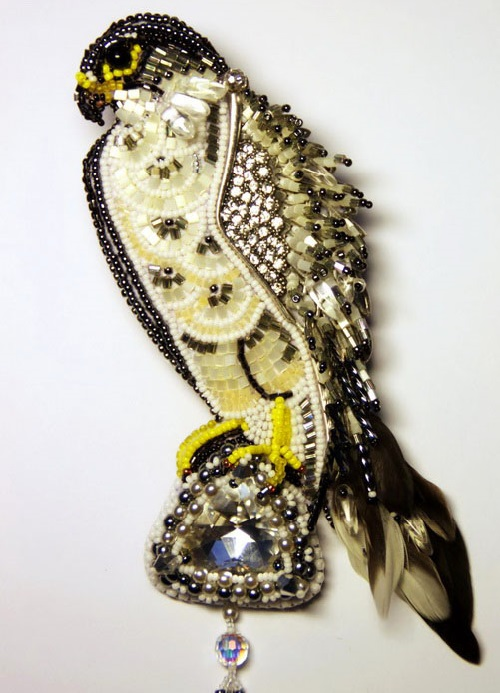 Brooch Falcon