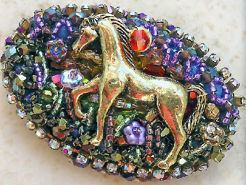 Brooch Night Walk
