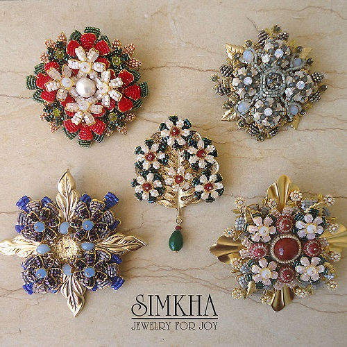 Brooch from Christmas collection