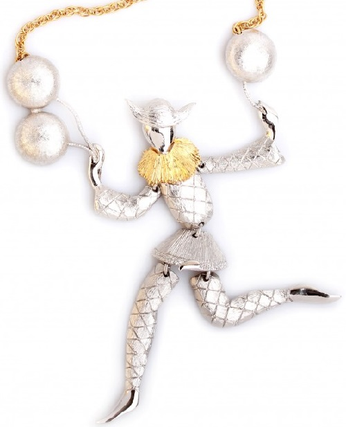 Panetta Vintage pendant - suspension as Harlequin with balloons
