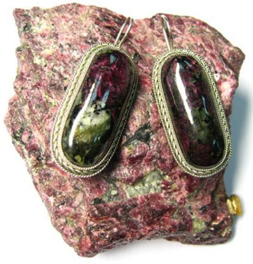 Eudialyte jewelry