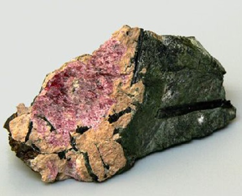 Rare mineral Eudialyte