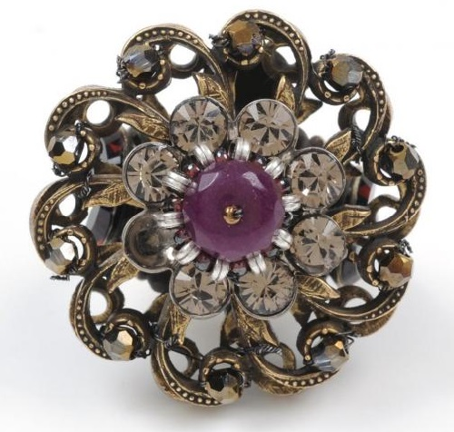Brooch by Miriam Haskell