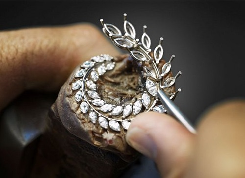 Creating Green Carpet line Chopard jewellery inspired by Gold Palm Award