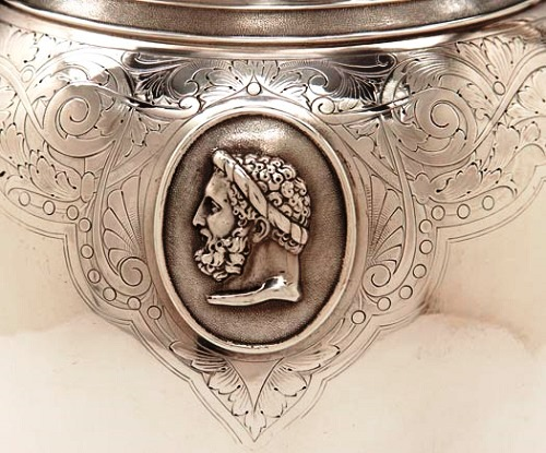 Dominick and Haff Sterling Silver Art