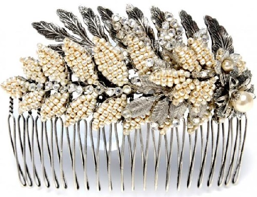 Hair Comb by Miriam Haskell