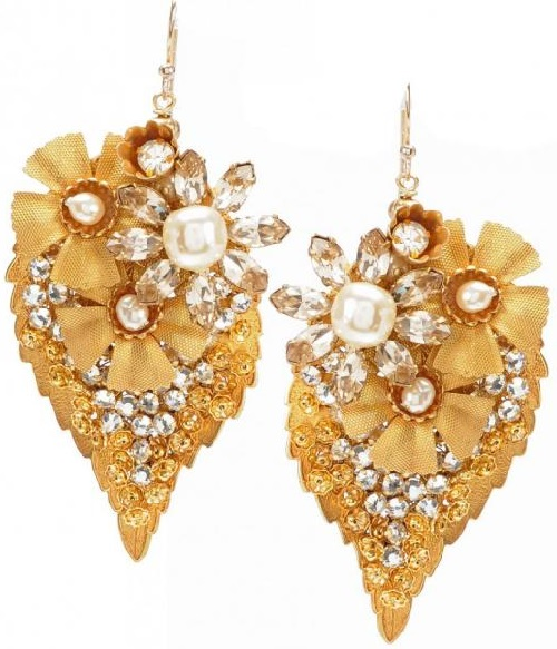 Miriam Haskell jewellery earrings