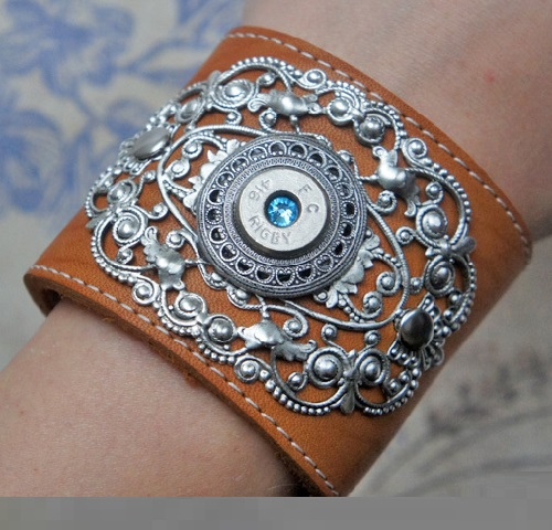 Steampunk bracelet A Farewell to Arms