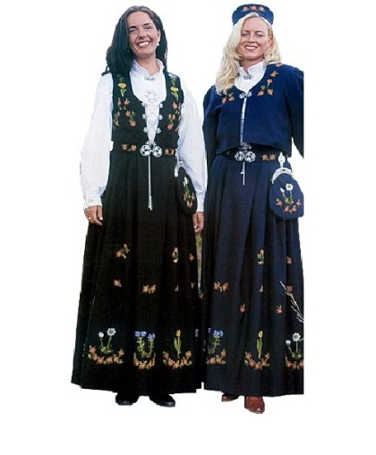 Norwegian national costume Bunad