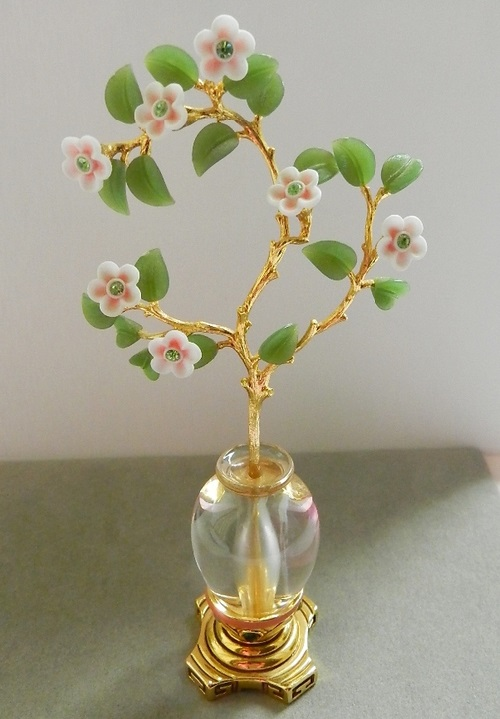 form collection faberg faberge takes brooch images being worn a not in when this sits crystal vase delicate garden the and little flowers beautiful spray rock secret of