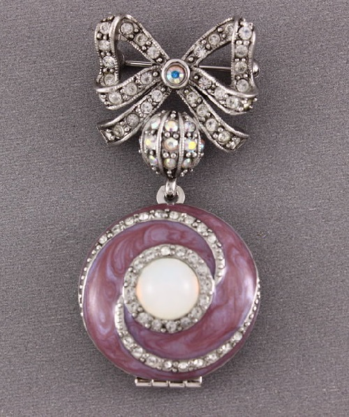 Joan Rivers marked brooch
