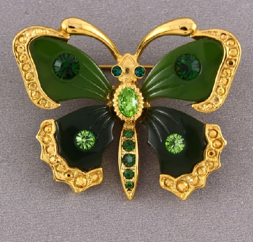 Joan Rivers vintage brooch Butterfly