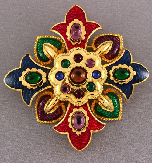Joan Rivers vintage brooch