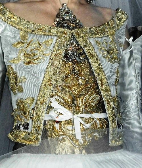 Sacred Heart in Christian Lacroix Haute Couture Spring 2009