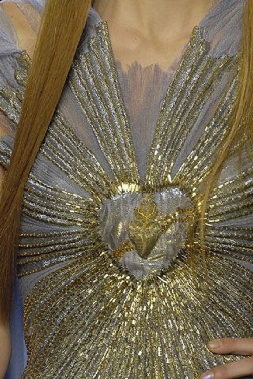 Sacred Heart Jewellery in Jean Paul Gaultier Haute Couture Spring 2007