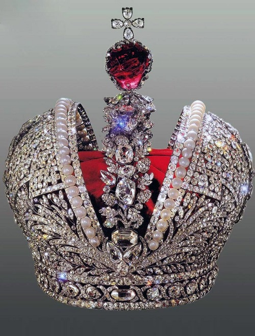 Imperial bouquet jewellery. The Great Imperial Crown