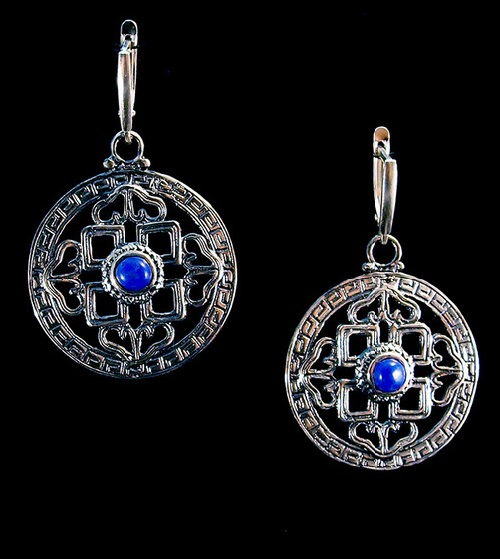 Tibet Silver Earrings