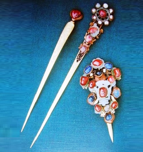 Traditional jewellery in China - hairpin