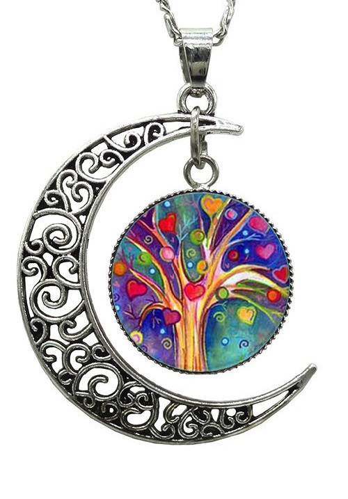Tree of life jewelry symbolism kaleidoscope effect for What is the meaning of the tree of life jewelry