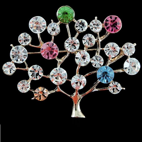 Tree of Life jewelry symbolism. Venetti Tree Of Life Brooch
